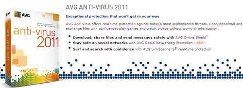 Download AVG Free 2011 Antivirus Edition — Techblissonline com