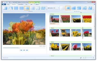 How to create movies with windows live movie maker
