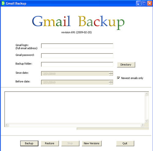 gmail download backup