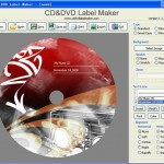 CD or DVD label maker (Free software)