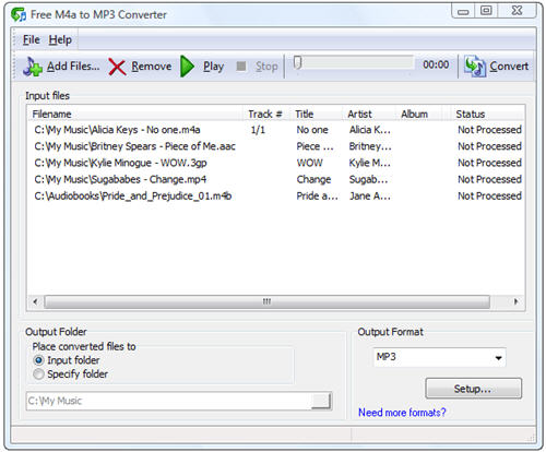 MP3 to AAC Converter - Free download and software reviews - CNET Download