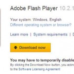 Download Adobe Flash Player 10.2