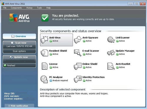 Avg antivirus pro 2011 download
