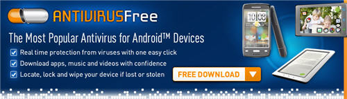 AVG Free Antivirus for Mobile Devices