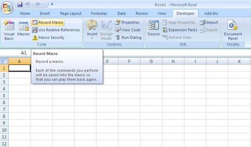 Excel Macro: How To Create An Excel Macro? | Techblissonline.com