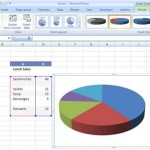 Pie Chart: How to make pie charts in Excel 2007?
