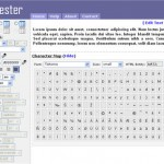 CSS Font Tester (Free)