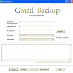 How to Download Gmail mails with Gmail Backup