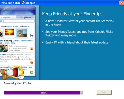 download latest yahoo messenger for pc