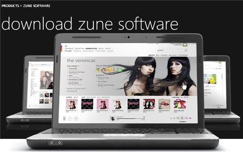 Best video portable media players-zune.