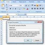 Excel password removal in Microsoft Excel 2007