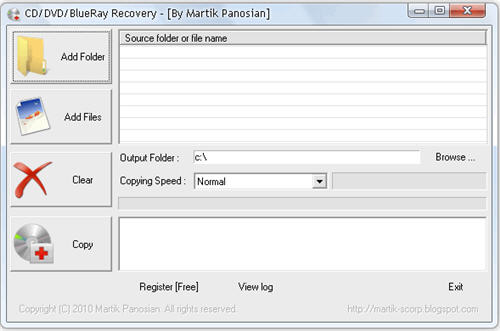 Free CD and DVD Data recovery Software