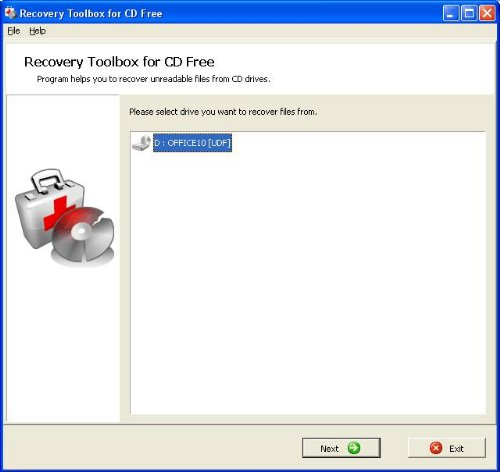 Free CD Recovery and DVD Recovery software