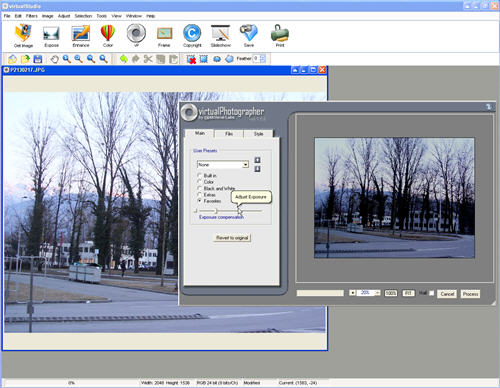 Free photo editor virtualstudio for Rendering online free