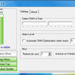 Free RAM Memory Optimizer