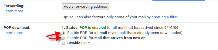 "<strong></noscript>Gmail SMTP Settings</strong> – POP3″ width=""600px"" align=""left""><br clear="