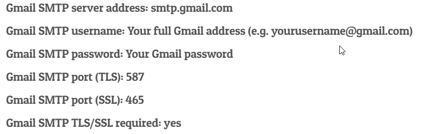gmail-smtp-settings