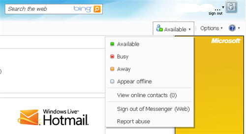 Hotmail Messenger - Free MSN Web Messenger via Hotmail com