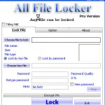 Lock File with All File Locker