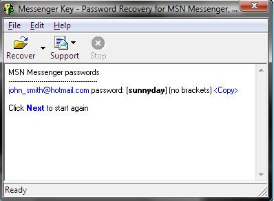 msn-password, google-talk-password, yahoo-messenger-password, icq-password, recover-password, forgot-password, recover-messenger-password, messenger-key
