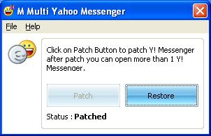 Multi Messenger, Yahoo Messenger Multi Yahoo Messenger