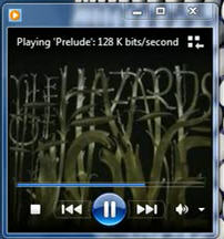 Now Playing Mode in windows Media Player 12