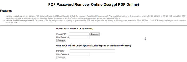 pdf password remover tool free download