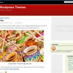 Free WordPress Theme - Pongal Red