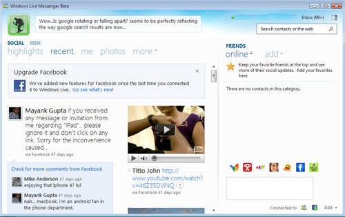 Download windows live messenger for.