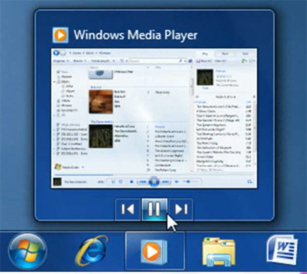Windows Media Player 12 in windows 7