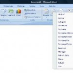 Quick parts in word 2007 to recycle content and improve productivity